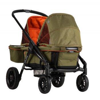 Универсальная прогулочная коляска для двойни Evenflo Pivot Xplore All-Terrain Stroller Wagon - Gypsy (032884198252)