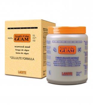 Маска GUAM грязевая разогревающая антицеллюлитная из водорослей GUAM 1 кг (81104)