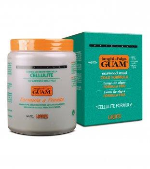 """Маска GUAM грязевая антицеллюлитная из водорослей """"холодная формула"""" 1 кг (81144)"""