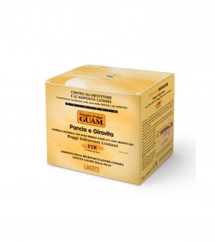 Маска GUAM для живота и талии грязевая из морских водорослей разогревающая FIR 1 кг (11278)