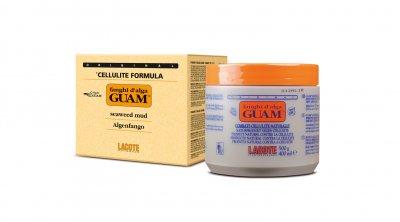 Маска GUAM грязевая разогревающая антицеллюлитная из водорослей GUAM 500г (81103)