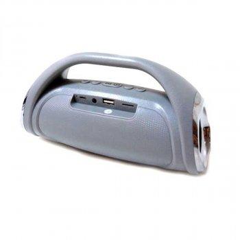 Портативна bluetooth колонка GBX MP3 BASS BOOM MINI сіра (008005)