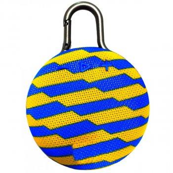 Портативна Bluetooth колонка GBX SPS CLIP3 оригінал синьо жовта (009824)