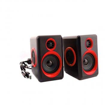 Колонки для ПК комп'ютера GBX F&T FT-165 Black Red (006300)