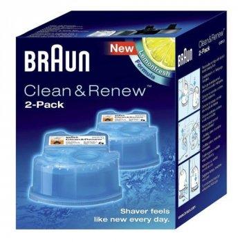 Картридж CCR2 для чищення бритви Braun 81603596