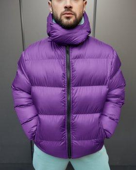 Зимняя мужская куртка Over Drive Homie фиолетовая