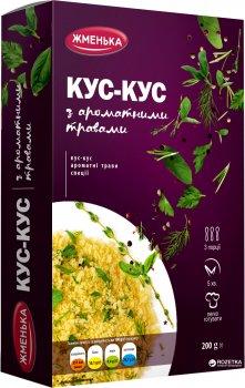 Упаковка кускуса Жменька с ароматными травами 200 г х 12 шт (4820152182050)