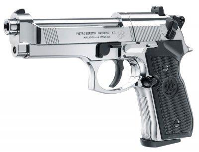 Пистолет пневматический Umarex Beretta 92 FS хром (419.00.17)