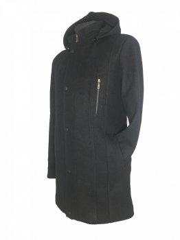 Пальто Season М-419 кашемір Чорне