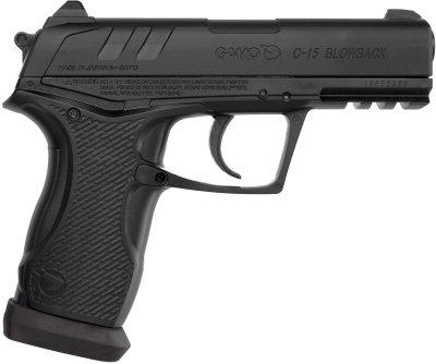 Пневматичний пістолет Gamo C-15 Blowback BB'S (6111390-P)
