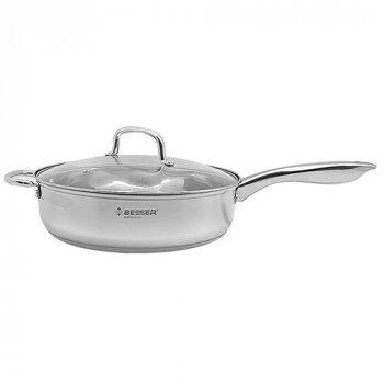 Cковорода сотейник с крышкой Stenson Besser 10314 28х8 см