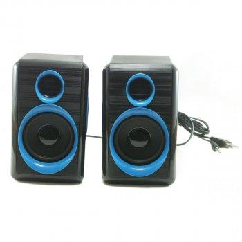 Колонки для ПК комп'ютера GBX F&T FT-165 Black Blue (005766)