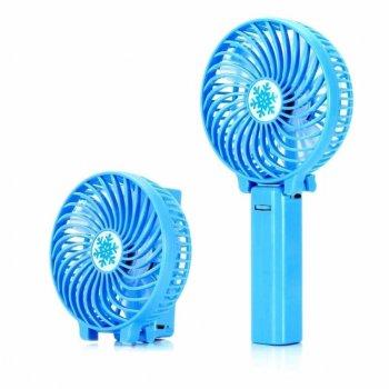Вентилятор ручної акумуляторний Plymex HF-308 Синій (tc-549)