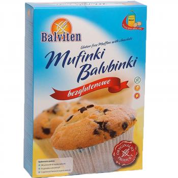Смесь Balviten для выпечки кексов с кусочками шоколада 280г