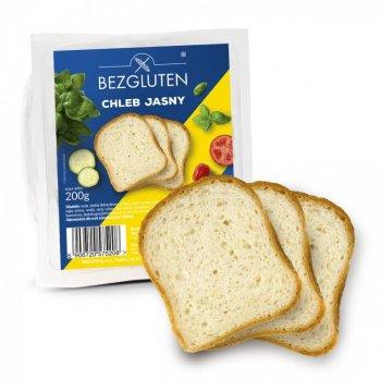 Хлеб Bezgluten белый 200г
