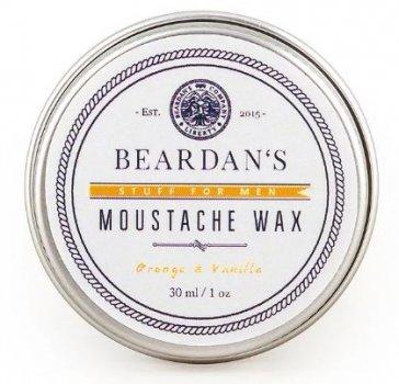 Віск для вусів Beardans, Orange and Vanilla, 30 мл R152346