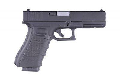 Пістолет WELL Glock 17 Metal G197 GBB (Страйкбол 6мм)