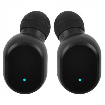 Беспроводные Bluetooth наушники в кейсе Wireless TWS-10-5.0 с функцией зарядки телефона Black
