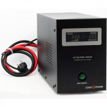 Джерело безперебійного живлення LogicPower LPY - B - PSW-1000VA+, 10А/20А (4151)