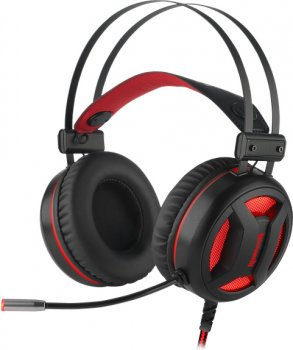 Навушники Redragon Minos Surround 7.1 Black-Red (78368)