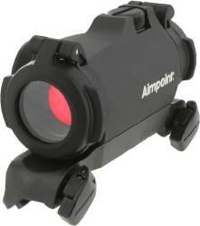 Коліматорний приціл Aimpoint Micro H-2 2МОА в комплекті з оригінальним Blaser SM кріплення із захисними кришками (200187)
