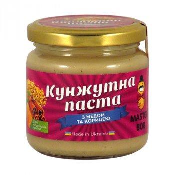 Паста з насіння кунжуту Master Bob з медом та корицею 200 г
