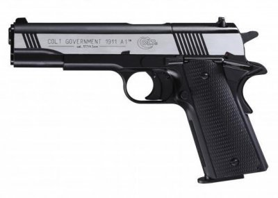 Пневматичний пістолет Umarex Colt Goverment 1911 Dark Ops