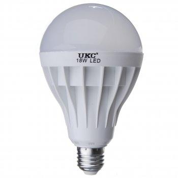 Світлодіодна Лампочка UKC Led Lamp E27 18W Кругла