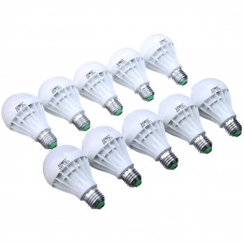 Комплект світлодіодних лампочок UKC 9W E27 10 шт