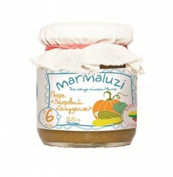 Пюре Marmaluzi Здоровий полуденок, 125 г (069936)
