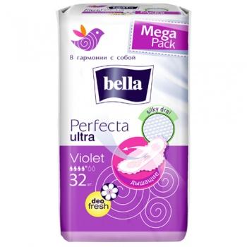 Гигиенические прокладки Bella Perfecta Ultra Violet deo fresh, 32 шт. (026663)