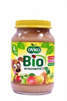 Пюре OVKO Мультифрукт, 190 г (085690)