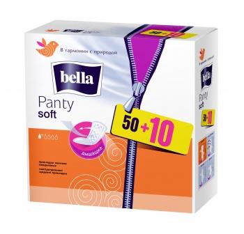 Ежедневные прокладки Bella Panty Soft, 50+10 шт. (001813)