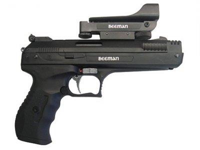 Пистолет мультикомпрессионный Beeman P17 4,5 мм 135 м/с, коллиматорный прицел