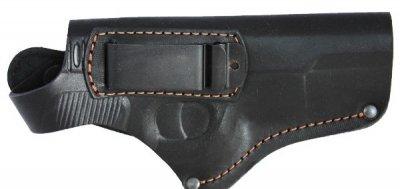 Кобура поясная для пистолета ТТ со скобой для скрытого ношения. Кожа.