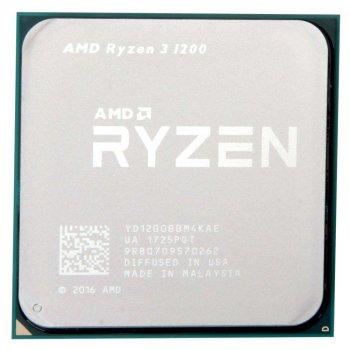 Процесор AMD Ryzen 3 1200 3.1-3.4 GHz (YD1200BBM4KAE) AM4 TRAY