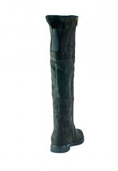 Сапоги демисезонные женские MIDA 22359-612 темно-коричневые