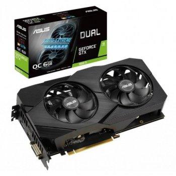 Відеокарта Asus GeForce GTX1660 Ti 6144Mb DUAL OC EVO (DUAL-GTX1660TI-O6G-EVO) (F00192416)