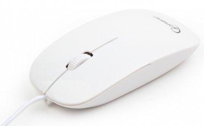 Миша Gembird MUS-103-W white
