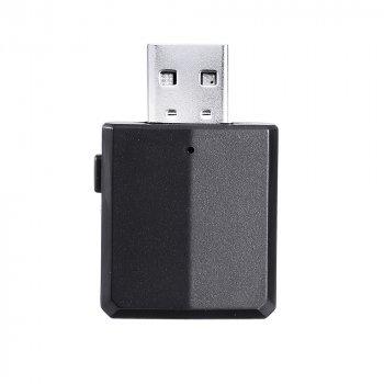 USB Bluetooth приемо-передатчик v5.0 HQ-Tech ZF-169 Plus, USB power, A2DP+AVRCP, DC3.5, LED, box