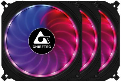 Вентилятор охлаждения CHIEFTEC TORNADO (CF-3012-RGB) (F00185444)