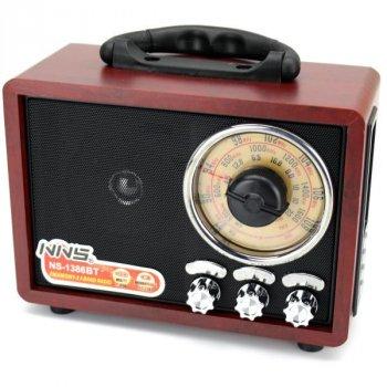 Радиоприемник NNS NS-1386BT радио в ретро стиле usb tf aux bluetooth