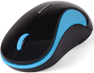Миша A4Tech G3-270N Wireless Black/Blue (4711421930703)