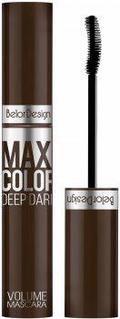 Тушь для ресниц Belor Design Maxi Color объемная Шоколадная 12.3 г (4810156046588)