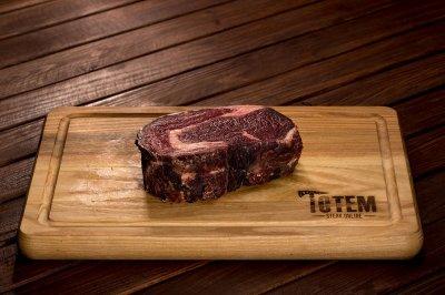 Стейк ТОТЕМ СТЕЙК Рібай (Steak Ribeye) сухої витримки 50+ днів M (200-250г)