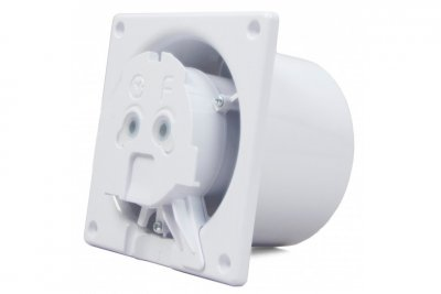 Вытяжной вентилятор AirRoxy dRim 125 TS BB Бежевый, с таймером.