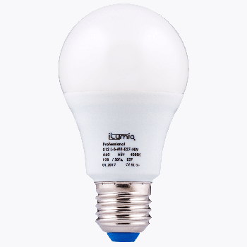 Світлодіодна лампа Ilumia низьковольтна 6Вт, 12В Цоколь Е27, 4000К (нейтральний білий), 600Лм (012)