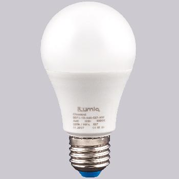 Світлодіодна лампа Ilumia 10Вт, цоколь Е27, 4000К (нейтральний білий), 1000Лм (007)