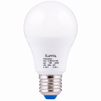 Світлодіодна лампа Ilumia низьковольтна 10Вт, 12В Цоколь Е27, 4000К (нейтральний білий), 1000Лм (010)