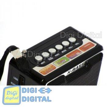 Радіоприймач NNS NS-047U, Портативний ФМ радіо, MP3/WMA/WAV з USB